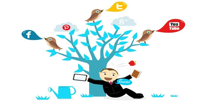 کار در منزل - ادمین شبکه های اجتماعی