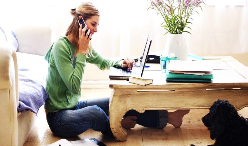 حمایت گسترده از صنایع کار در منزل منجر به استخدام برنامه نویس و شکلگیری بسیاری از مشاغل می شود.